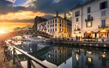 Μια υπαίθρια πασαρέλα στην καρδιά της βόρειας Ιταλίας