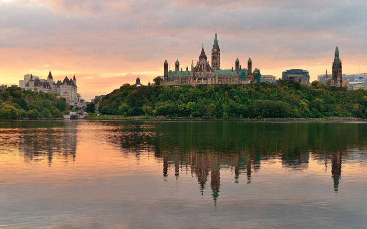 Η αρχοντική καρδιά του Καναδά χτυπάει στην Οτάβα