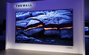 H Samsung κυκλοφορεί τηλεόραση «μαμούθ» 146 ιντσών