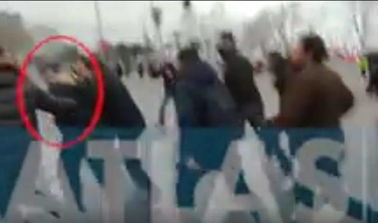 Επιτέθηκαν στον Ζουράρι στο συλλαλητήριο για το Σκοπιανό