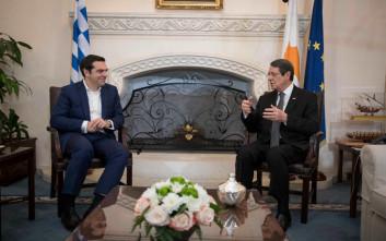 Αισιόδοξος για την επίλυση του Κυπριακού ο Τσίπρας