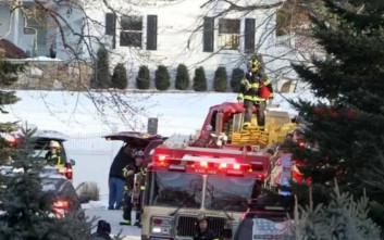 Έπιασε φωτιά σε σπίτι των Κλίντον