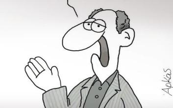 Το «αιχμηρό» σκίτσο του Αρκά για την παραίτηση Ζουράρι