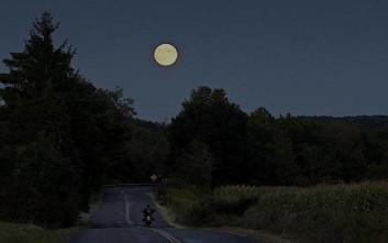 Το ολόγιομο φεγγάρι επηρεάζει τις στατιστικές των τροχαίων