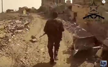 Βίντεο με Έλληνες αναρχικούς που πολεμούν τζιχαντιστές στη Συρία