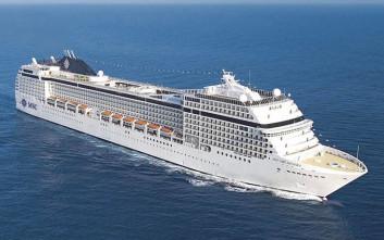 Στο λιμάνι της Σούδας κατέπλευσε τελικά το εντυπωσιακό κρουαζερόπλοιο Msc Orchestra