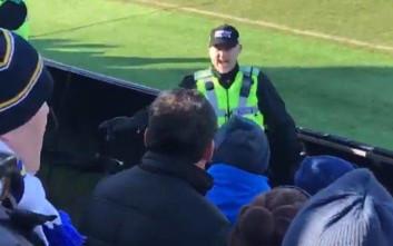Ένας αστυνομικός οργάνωσε την κερκίδα της Λιντς