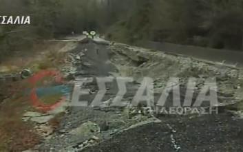 Τεράστιες καταστροφές και κομμένοι δρόμοι στο Πήλιο