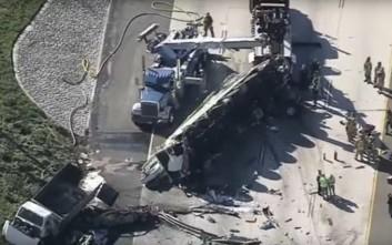 Σοκαριστικό τροχαίο με πέντε νεκρούς στην Καλιφόρνια