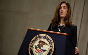 Ηχηρή παραίτηση από το υπουργείο Δικαιοσύνης των ΗΠΑ