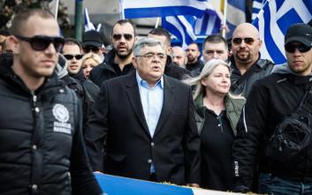 Οκτώ μέρες μετά τη δολοφονία Φύσσα, ο Νίκος Μιχαλολιάκος κάλυπτε τον πυρήνα της Νίκαιας