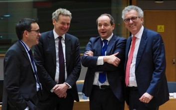 Óõíåäñßáóç ôïõ Eurogroup ôçí ÄåõôÝñá 19 Öåâñïõáñßïõ 2018. (EUROKINISSI/ÅÕÑÙÐÁÚÊÇ ÅÍÙÓÇ)