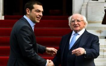«Ο ελληνικός λαός ίσως υπέφερε περισσότερο από τον ιρλανδικό»