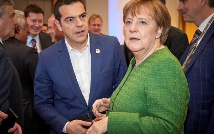 Στήριξη Μέρκελ και Ευρώπης για το Σκοπιανό