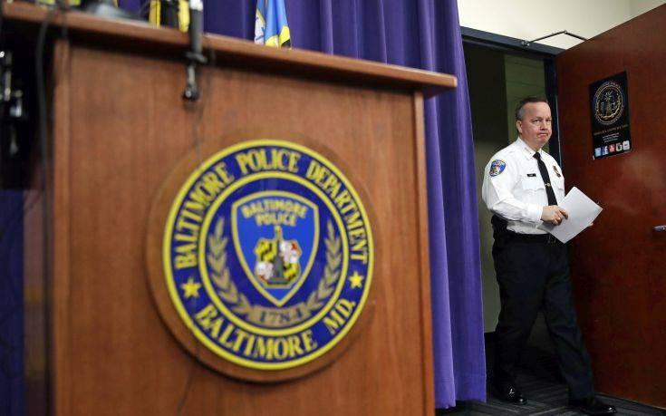 Ένοχοι για εκβιασμό κρίθηκαν δύο αστυνομικοί στη Βαλτιμόρη