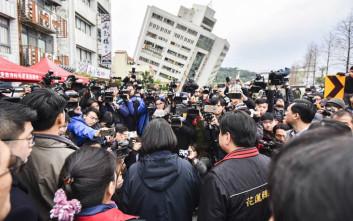 Τέσσερις οι νεκροί από τον σεισμό στην Ταϊβάν
