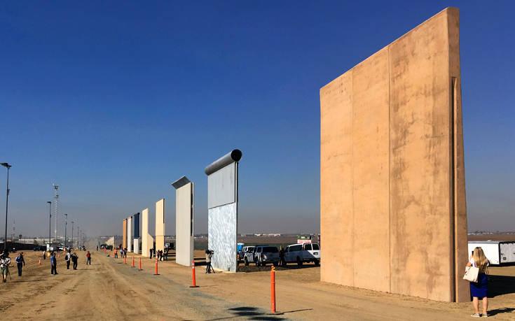«Εκατοντάδες χιλιόμετρα τείχους θα ανεγερθούν έως το 2020»
