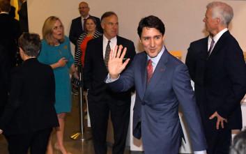 Τροχαίο ατύχημα για την αυτοκινητοπομπή του Καναδού πρωθυπουργού Τζάστιν Τριντό