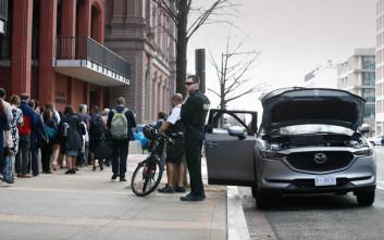 Λήξη συναγερμού για το ύποπτο όχημα στην Ουάσιγκτον