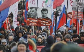 Φόρο τιμής αποτίει η αντιπολίτευση στο Μπόρις Νεμτσόφ, 3 χρόνια μετά τη δολοφονία του