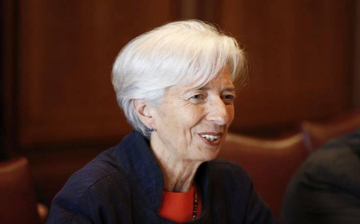 Λαγκάρντ: Υπάρχουν δύο μεγάλες κατηγορίες κινδύνων για την παγκόσμια οικονομία