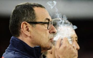 Η Λειψία έφτιαξε ειδικό χώρο στα αποδυτήρια για τον καπνιστή Σάρι