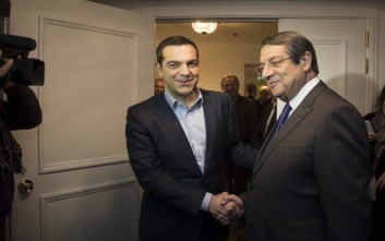 Τσίπρας και Αναστασιάδης συναντήθηκαν στις Βρυξέλλες
