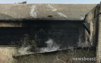 Φωτιά σε εγκαταλελειμμένο εργοστάσιο της Νέας Ιωνίας