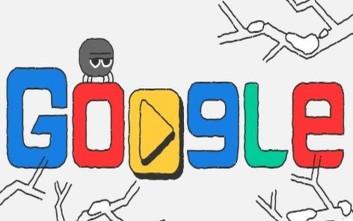 Σε ρυθμούς Χειμερινών Ολυμπιακών Αγώνων συνεχίζει το doodle της Google