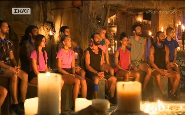 Υποψήφιοι προς αποχώρηση από το Survivor 2, οι Ν. Αγόρου, Θοδωρής και Ν. Θωμάς