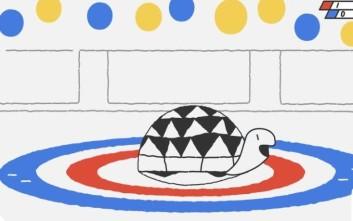 Το νέο doodle της Google πάει στους Χειμερινούς Ολυμπιακούς Αγώνες