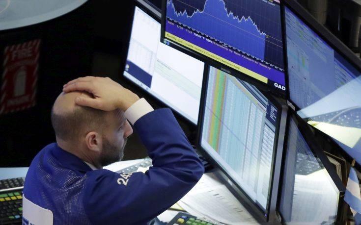 Πτώση στη Wall Street εξαιτίας των αναταραχών στην τουρκική οικονομία