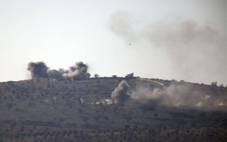 Το τουρκικό πυροβολικό απώθησε συριακές φιλοκυβερνητικές δυνάμεις στο Αφρίν