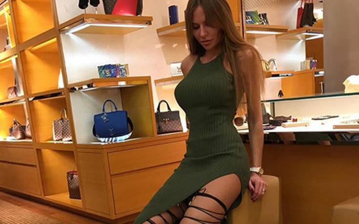 Η Anastasia Skyline δε χωράει στα ρούχα της