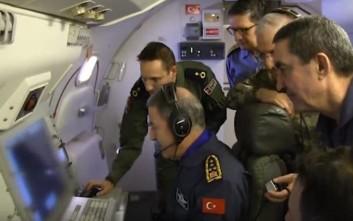 Η διπλή απειλή από τον Τούρκο Αρχηγό για στρατιωτική επιχείρηση στο Αιγαίο και το Σκοπιανό
