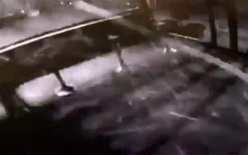 Η στιγμή της ισχυρής έκρηξης στο Μαρούσι