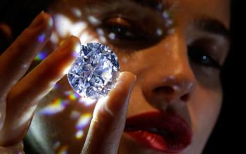 Δημοπρατείται το «πιο σπάνιο λευκό διαμάντι»