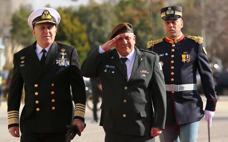 Στην Αθήνα ο αρχηγός των Ενόπλων Δυνάμεων του Ισραήλ