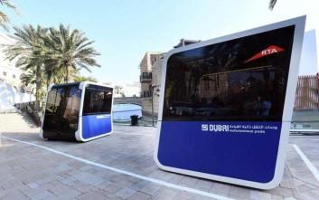 Λεωφορεία χωρίς οδηγό δοκιμάζει το Ντουμπάι
