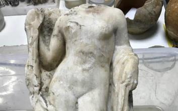 Η εντυπωσιακή ακέφαλη Αφροδίτη που «κρυβόταν» σε εργοτάξιο του μετρό στη Θεσσαλονίκη