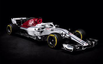 Αυτό είναι το νέο μονοθέσιο της Sauber με το σήμα της Alfa Romeo
