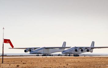 Πλησιάζει η ώρα για την πρώτη πτήση του μεγαλύτερου αεροσκάφους στον κόσμο