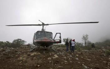 Στους 14 αυξήθηκαν οι νεκροί εξαιτίας στη συντριβή ελικοπτέρου στο Μεξικό