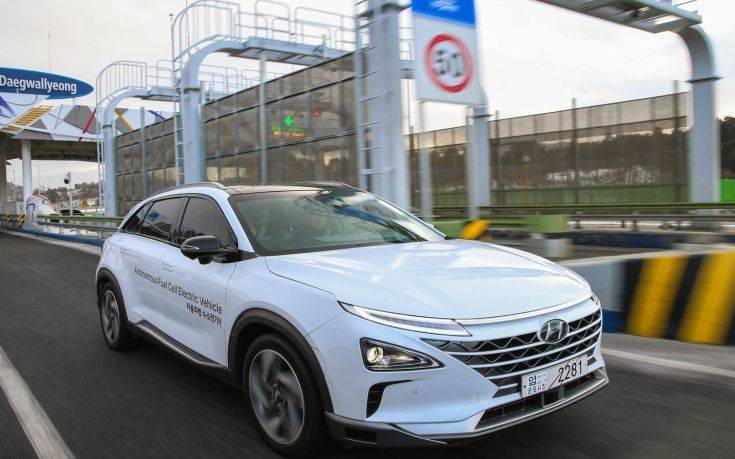 Ηλεκτρικό όχημα κυψελών καυσίμου από τη Hyundai