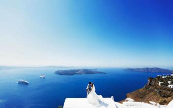 Ποιους ελληνικούς προορισμούς «ψηφίζουν» οι ξένοι για το γάμο τους στην Ελλάδα;