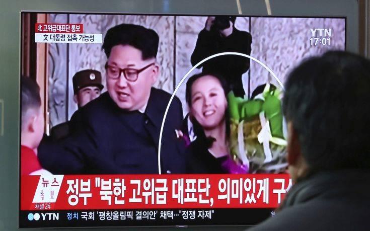 Στη Νότια Κορέα αύριο η αδελφή του Κιμ Γιογνκ Ουν