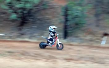 Πιτσιρίκια ταλέντα στο motocross