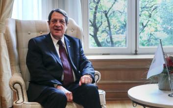 Συγχαρητήρια Αναστασιάδη σε Τσίπρα για την έξοδο από τα μνημόνια