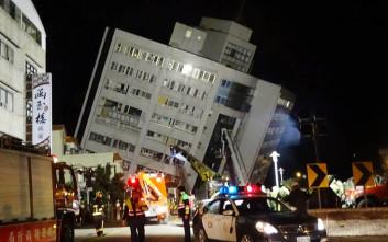 Δύο νεκροί και πάνω από 100 τραυματίες από τον σεισμό στην Ταϊβάν