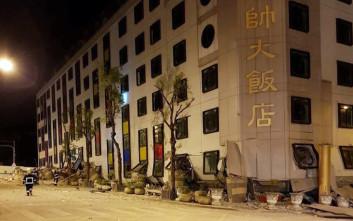 Τουλάχιστον 7 νεκροί μετά το σεισμό των 6,4 βαθμών στην Ταϊβάν